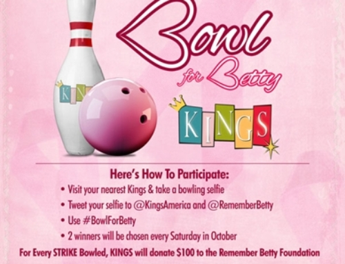 KingsBowlAmerica.com:  Bowling for Betty: Do Your Part and Win A NKOTB's Danny Wood Autographed Pin!